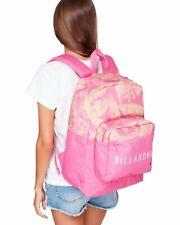 Girls Billabong Hawaiian Hula Pink Laptop Backpack - 28 Litres. Nwt. Rrp $59-99.