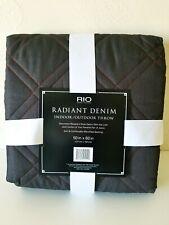 Rio Radiant Denim Indoor Outdoor Throw Park Beach Microfiber Blanket