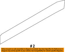 FORD OEM Exterior-Rear-Side Molding Right 7T4Z7825556BA