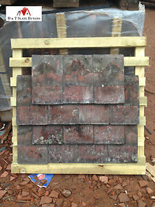 Reclaimed / Second-hand Machine Made Clay Roofing Tiles (Acme, Rosemary etc)