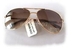 NWT STEVE MADDEN Womens Sunglasses S5607 Gold/Brown $40 - defected frame