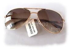 NWT STEVE MADDEN Womens Sunglasses S5607 Gold/Brown $40 - defected frame
