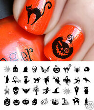 Halloween Nail Art Decals Waterslide Decals Set #2 - Salon Quality!