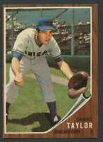 1962 Topps #274 Sammy Taylor EXMT/EXMT+ Cubs 21176
