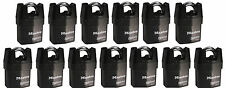 Master Lock 6321KA (Lot of 13) KEYED ALIKE Shrouded Heavy Duty High Security