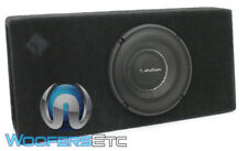 "ROCKFORD FOSGATE T1S-1X10 POWER 1-OHM 10"" 1000W SUBWOOFER BASS SPEAKER & BOX NEW"