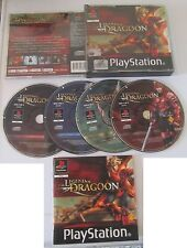 The Legend Of Dragoon Italiano 4CD PSX Playstation GDR RPG SPESE GRATIS