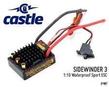 CASTLE CREATIONS SIDEWINDER 3 Waterproof 1:10 Sport ESC CSE010011500