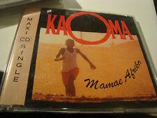 RAR MAXI CD. KAOMA. MAMAE AFRIKA. 3 TRACKS.