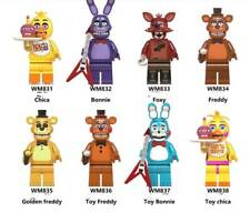 8PCS Five Nights at Freddy's  Action Figures Collection Toy Freddy 4.5cm 6074