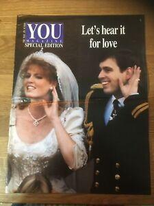 Royalty Wholesale 1986 Prince Andrew//Ferguson Wedding 10 booklet SEE BELOW NW145