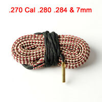 Bore Snake Cleaning Kit .270 Cal .280 .284&7mm Boresnake Brush Cleaner