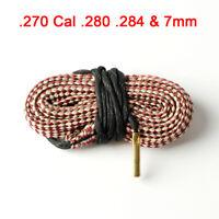 Bore Snake Cleaning Kit .270 Cal .280 .284&7mm Boresnake Brush Cleaner