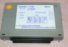 MAZAK Mitsubishi QX818 MAZATROL T PLUS tested under full load, certified WARRANT