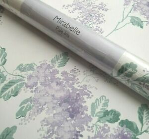 Laura Ashley Mirabelle Pale Iris Wallpaper * FREE DELIVERY *