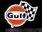 GULF Oil Company Flag - Original Vintage 1960's 70's Racing Decal/Sticker
