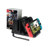 Multi Charging Dock Stand for Nintendo Switch Console Joy-Con Pro Controller