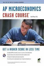 AP Microeconomics Crash Course Book + Online Advanced Placement AP Crash Cour