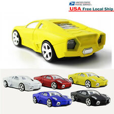3D 2.4Ghz Wireless car Mouse optical PC Laptop Gaming Mice led +USB Receiver US