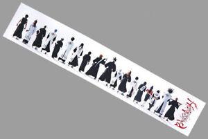 BANDAI BLEACH Ichigo Kurosaki 35in Cloth TENUGUI hand towel Shonen Jump 035