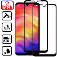 2X Full Cover Tempered Glass Screen Protector For Xiaomi Redmi Note 5 6 7 8 Pro