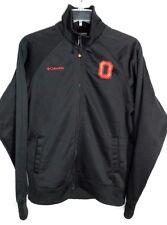 Columbia Ohio State Buckeyes Jacket Mens M Medium Omni Shield Black Lined NICE!