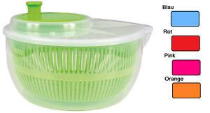 Salatschleuder Salat Schleuder Salattrockner Salatmanager mit Kurbel Sieb