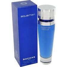Rochas Aquaman 100ml/ 3.4oz EDT spray for Men Sealed Box Genuine Perfume