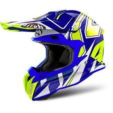 Airoh Terminator Open Vision MX Helmet Shock Blue
