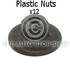 Panel de clips de plástico NUTS 5 Mm Bmw Serie 3/x1/x3 / z4/mini Clubman 12666mu 12 Pack