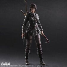 Play Arts Kai Rise of Tomb Raider Lara Croft Action Figure Statue Toy Doll Model