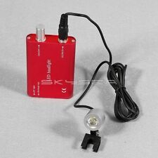 5pcs Dental LED Head Light battery Medical Surgical Binocular Loupes red