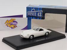 """Autocult Avenue 43 60038 # Saab Quantum III Cabrio Baujahr 1962 in """" weiß """" 1:43"""