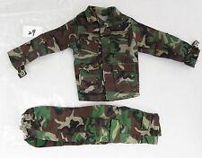 "21st Century Ultimate Soldier 1/6 Scale 12"" Action Figure Army Camo Uniform Set"