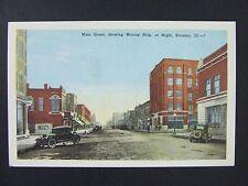Streator Illinois IL Main Street Murray Bldg Old Cars Postcard 1915-30
