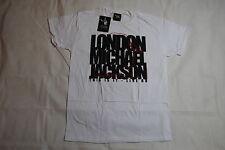 MICHAEL JACKSON MJ LONDON SILHOUETTE T SHIRT BNWT OFFICIAL KING OF POP THRILLER
