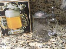 Warsteiner Beer Stein Mug Pewter Top