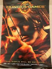 "THE HUNGER GAMES POSTER THE WORLD WILL BE WATCHING MOVIE POSTER LARGE 27"" x 39"""