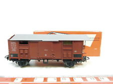 bj330-0,5 # Märklin H0/AC 4550 ITALIANO CARRO MERCI FS / Marrone, conf. orig.