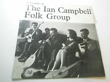 A SAMPLE OF THE IAN CAMPBELL FOLK GROUP      TRA  EP  128