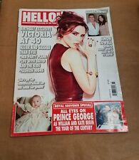 HELLO! UK Magazine Victoria Beckham 14 April 2014 Prince George Simon Cowell