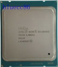 Intel Xeon E5-2643 V2 SR19X 6-Core 2.50GHz 25MB LGA-2011 CPU Processor