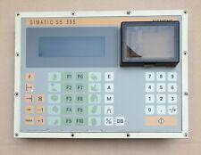 Siemens Simatic S5 6ES5395-0UA11/6ES5 395-0UA11 OP395