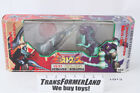 Sharp Edge vs Hardhead Sealed MISB Beast Wars Neo Transformers