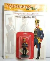 DEL PRADO NAPOLEON AT WAR: SPANISH CAPTAIN, FOOT ARTILLERY, 1812 - NEW