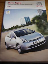 "TOYOTA PRIUS & ACCESSORIES ""REVERSO"" SALES BROCHURE 2006  jm"