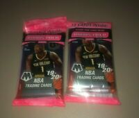 2019-2020 Panini Mosaic NBA Basketball Cello Pack Sealed Lot of 2 Free Shipping!