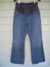 GAP Maternity Flare Jeans Women's Size 8  Flap Pocket