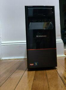 Lenovo H405 Desktop 77231DU AMD Athlon II X4 645 6GB RAM 1TB HDD WIndows 10