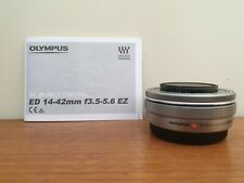 Olympus M.ZUIKO 14-42mm EZ ED MSC Micro 4/3 Lens + Lens Hood